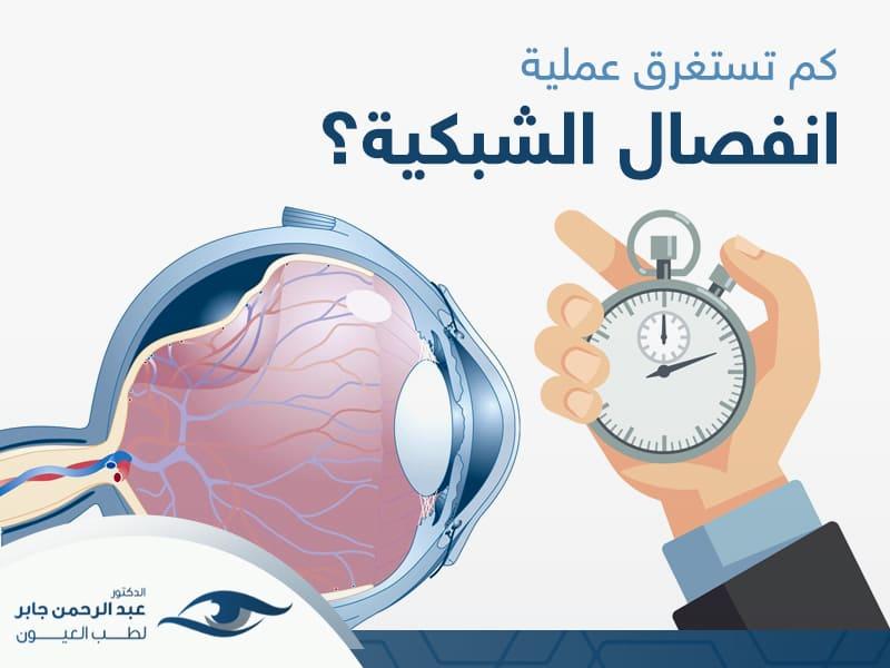 كم تستغرق عملية انفصال الشبكية مع د عبد الرحمن